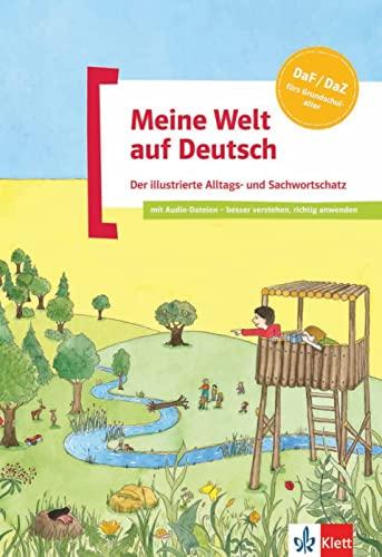9783126748964: Meine Welt Auf Deutsch: Der Illustrierte Alltags- Und Sachwortschatz - Buch MIT Audio-CD (German Edition)