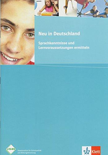 9783126750974: Neu in Deutschland: Sprachkenntnisse und Lernvoraussetzungen ermitteln