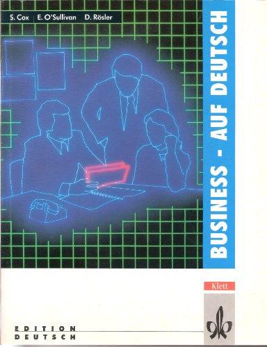 9783126752107: Business - Auf Deutsch: Textbook (German Edition)