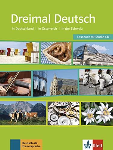 9783126752374: Dreimal deutsch. Per le Scuole superiori. Con CD Audio