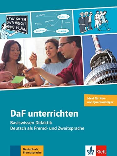 9783126753081: DaF unterrichten. Buch + Video-DVD