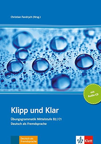 9783126753173: Klipp und Klar Mittelstufengrammatik B2/C1, libro + CD audio