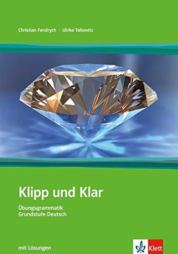 9783126753227: Klipp und Klar. Mit Lösungen. Per le Scuole superiori