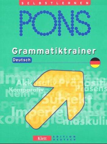 9783126753234: Pons German Series: Pons Grammatiktrainer Deutsch (German Edition)
