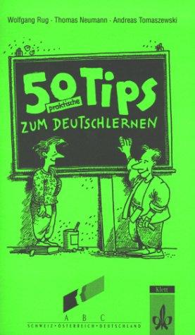 9783126753401: 50 Praktische Tips Zum Deutschlernen