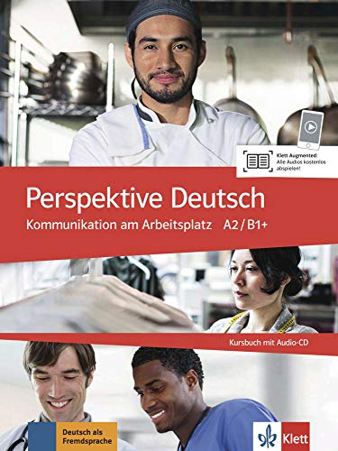 9783126753470: Perspektive Deutsch: Kursbuch mit Audio-CD