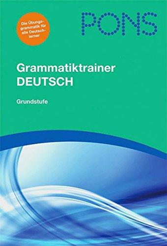 9783126753548: PONS Grammatiktrainer Deutsch: Grundstufe