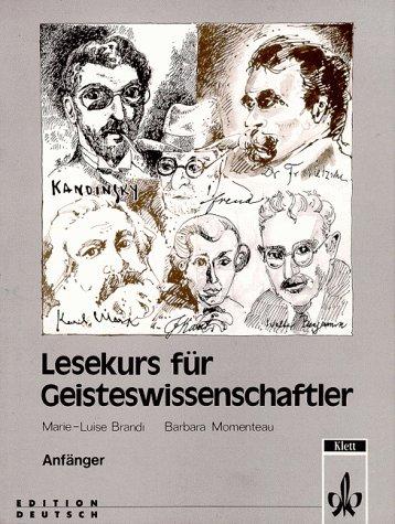 9783126753609: Lesekurs Fur Geisteswiss Anfan