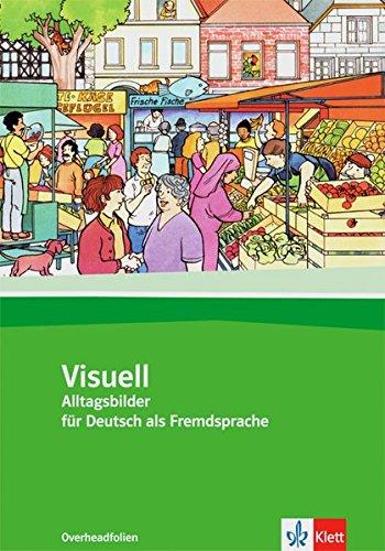 9783126754446: Visuell: Buch Inkl. Farbfolien - Alltagsbilder Fur Deutsch Als Fremdsprache