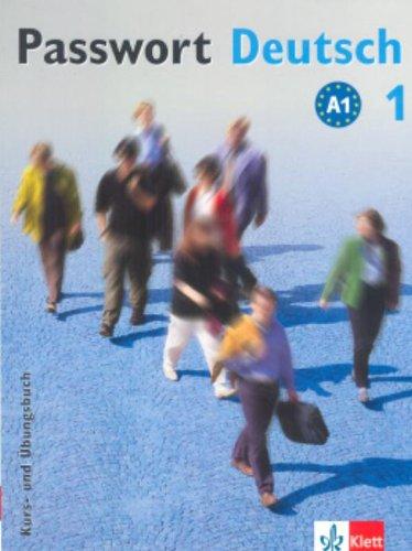 9783126758079: Passwort Deutsch: Kurs Und Ubungsbuch 1 MIT Audio-CD (German Edition)