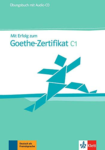 9783126758345: Mit Erfolg zum Goethe-Zertificat - Nivel C1 - Cuaderno de ejercicios + CD