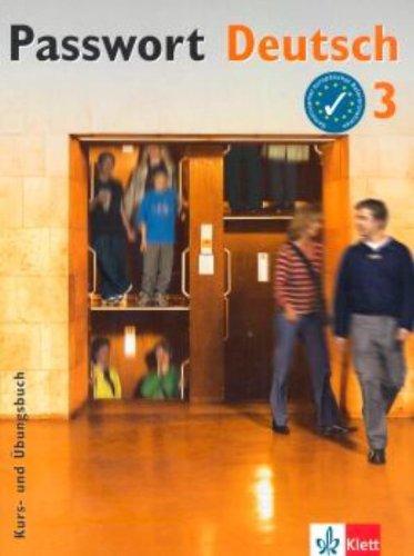 9783126758475: Passwort Deutsch: Kurs- Und Ubungsbuch 3 MIT Audio-CD (German Edition)