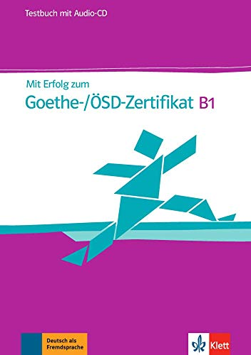 9783126758512: Mit Erfolg zum Goethe-Zertifikat B1: Testbuch mit Audio-CD [Lingua tedesca]