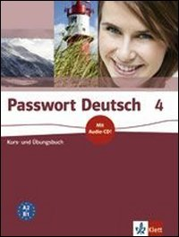 9783126758673: Passwort Deutsch: Kurs- Und Ubungsbuch 4 MIT Audio-CD (German Edition)