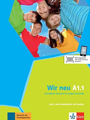 9783126758703: Wir Neu: Lehr- Und Arbeitsbuch A1.1 MIT Audio-cd (German Edition)