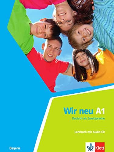 9783126759175: Wir neu A1. Deutsch als Zweitsprache . Lehrbuch + Audio-CD