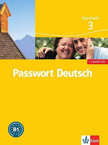9783126759359: Passwort Deutsch. Kursbuch. Con 3 CD Audio. Per le Scuole superiori: Passwort Deutsch 3 Nivel B1 Libro del alumno + 2 CD (Passwort Deutsch - Edici�n en 3 Vol�menes)