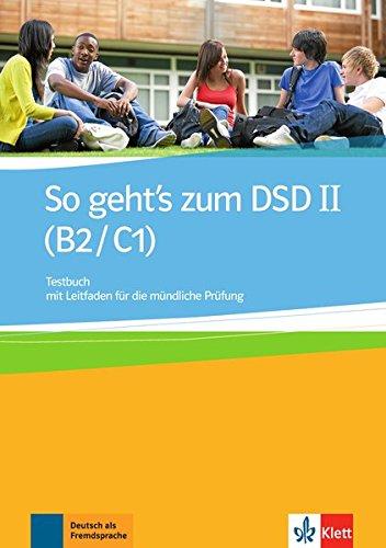9783126759717: So Geht's Zum Dsd B2/C1: Testbuch (German Edition)