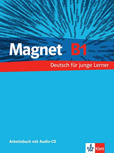 9783126760317: Magnet: Arbeitsbuch B1 MIT Audio-CD (German Edition)