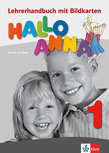 9783126760621: Hallo Anna: Lehrerhandbuch 1 mit Bildkarten und Kopiervorlagen