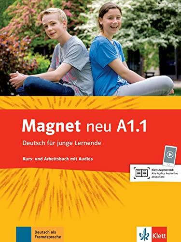 9783126760959: Magnet Neu in Teilbanden: Kurs- Und Arbeitsbuch A1.1 Mit Audio-CD
