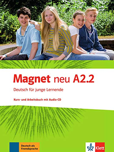 9783126761314: Magnet Neu in Teilbanden: Kurs- Und Arbeitsbuch A2.2 Mit Audio-CD