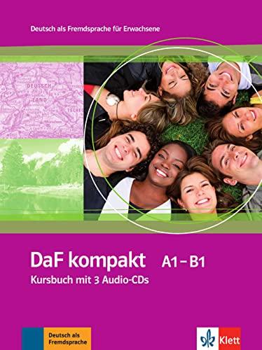 9783126761802: Daf Kompakt: Kursbuch MIT 3 Audio-Cds (German Edition)