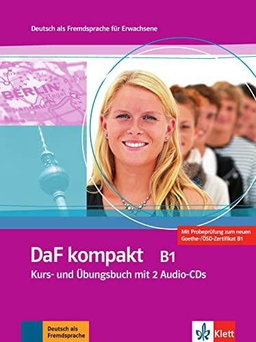 9783126761888: DaF kompakt B1 : Kurs- und Ubungsbuch (2CD audio)