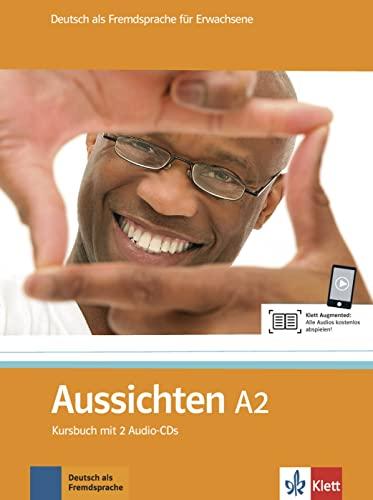 9783126762106: Aussichten. A2. Kursbuch. Con espansione online. Con 2 CD Audio. Per le Scuole superiori: Aussichten - Nivel A2 - Libro del alumno + 2 CD