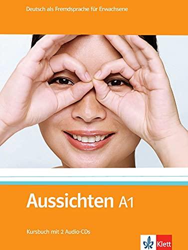 9783126762403: Aussichten. Paket A1: Deutsch als Fremdsprache für Erwachsene / (enth.Kursbuch + 2 Audio-CDs, Arbeitsbuch + Audio-CD + DVD, Intensivtrainer)