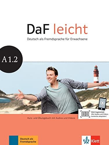 9783126762519: DaF leicht. Kurs- und Übungsbuch + DVD-ROM A1.2: Kurs- und Übungsbuch mit DVD-ROM