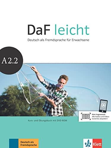 9783126762564: Daf Leicht: Kurs- Und Ubungsbuch A2.2 Mit DVD-Rom