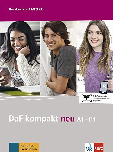 9783126763103: DaF kompakt neu A1-B1 : Kursbuch (1CD audio MP3)