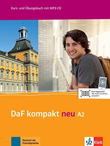 9783126763141: DaF kompakt neu A2 : Kurs- une Übungsbuch (1CD audio MP3)