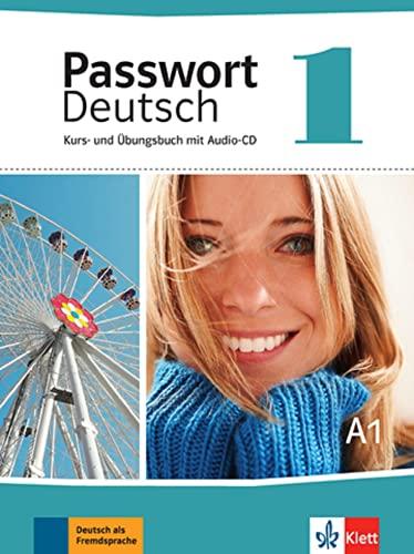 9783126764100: Passwort Deutsch: Kurs und Ubungsbuch 1 mit Audio-CD