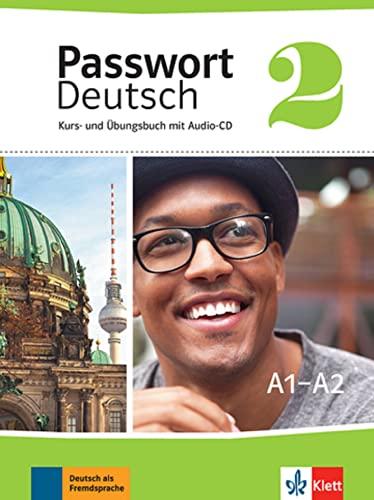 9783126764131: Passwort Deutsch 2 - A1/A2 : Kurs- und Ubungsbuch mit Audio-CD (1CD audio)