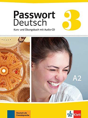 9783126764162: Passwort Deutsch 3 (nueva ed.) - Libro del alumno + Cuaderno de ejercicios + CD