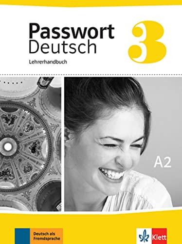 9783126764179: Passwort Deutsch 3. Lehrerhandbuch