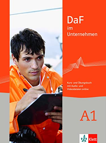 9783126764407: DaF im Unternehmen A1 : Kurs und Ubungsbuch mit Audio und Videodateien online
