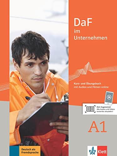9783126764407: DaF im unternehmen a1, libro del alumno y libro de ejercicios: Kurs- und Ubungsbuch A1 + Audios und Filmen online: Vol. 1