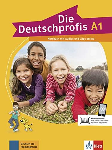 9783126764704: Die Deutschprofis A1 - Kursbuch + Online-Hörmaterial