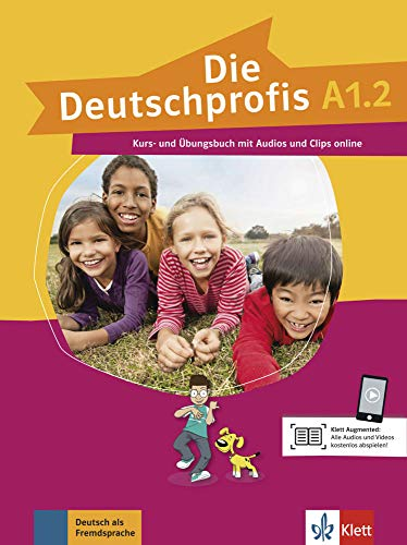 9783126764773: Deutschprofis in Teilbanden: Kurs- Und Ubungsbuch A1.2 + Audios Und Clips O