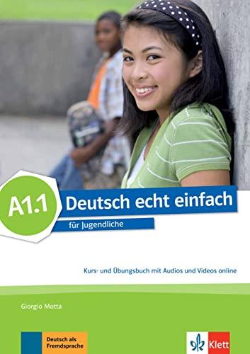 9783126765220: deutsch echt einfach! a1.1, libro del alumno y libro de ejercicios con audio online