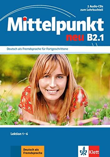 9783126766586: Mittelpunkt B2 (zweibändige Ausgabe). B2.1. 2 Audio-CDs: Lektionen 1-6