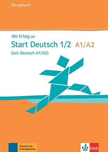 9783126768023: Mit erfolg zu start deutsch. Livelli A1-A2. Ubungsbuch. Con CD Audio. Per le Scuole superiori
