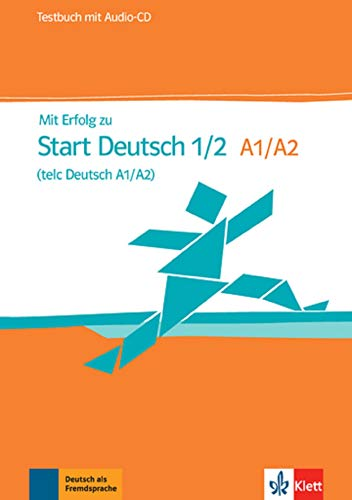 9783126768030: Mit erfolg zu start deutsch. Livelli A1-A2. Testbuch. Con CD Audio. Per le Scuole superiori