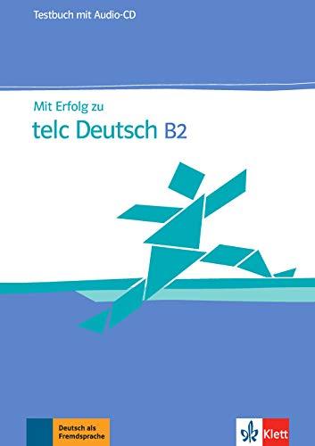 9783126768054: Mit erfolg zu telc deutsch b2, libro de tests + cd