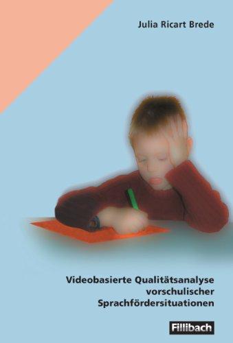 9783126880411: Videobasierte Qualitätsanalyse vorschulischer Sprachfördersituationen