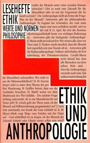 9783126912105: Lesehefte Ethik, Ethik und Anthropologie