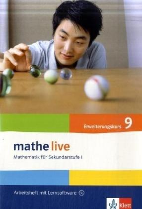 9783127203554: mathe live. Arbeitsheft mit Lösungsheft und Lernsoftware 9. Schuljahr. Allgemeine Ausgabe